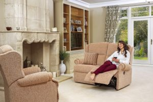 Claremont Std. Fixed Chair, Std. Reclining 2-Seater Settee pg29 (F)