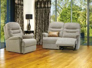 Keswick Petite Fixed Chair, Petite Reclining 2-Seater Settee pg17 (F)