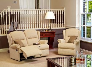 Malvern Small Reclining 2-Seater Settee, Small Fixed Chair pg23 (F)
